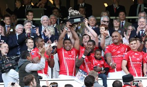 Team Army welcomes over 300 guests at Twickenham Rugby