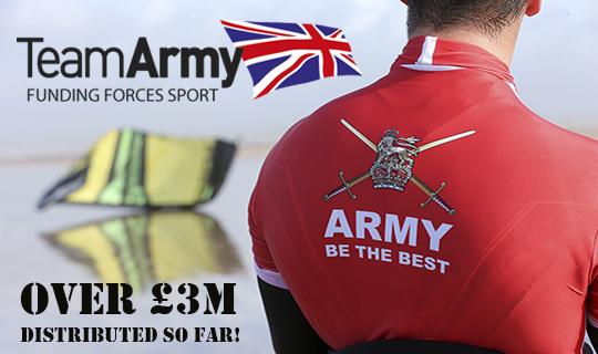 Team Army's £3m success