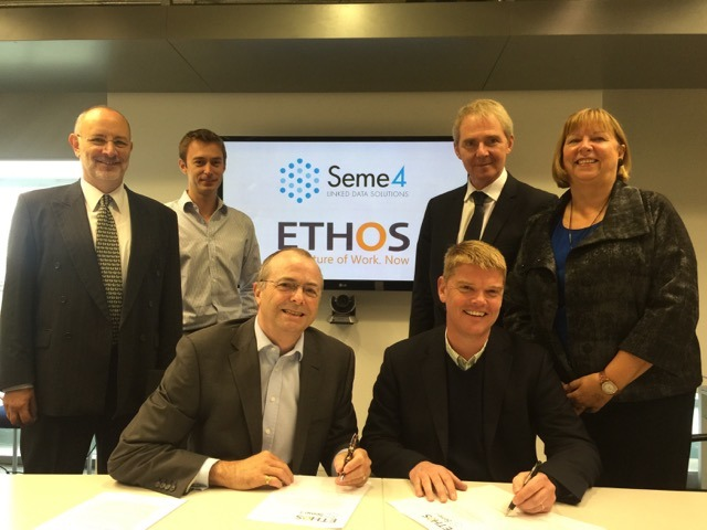 Ethos and Seme4 announce new business partnership