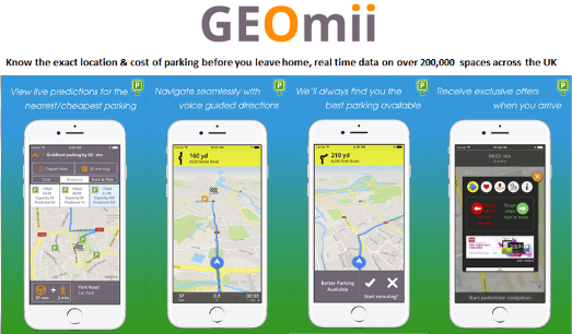 GEOmii launches Guildford Parking app – taking the pain out of Christmas shopping!