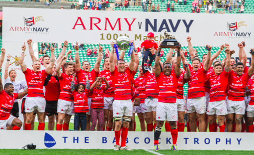 Team Army hits £5M mark