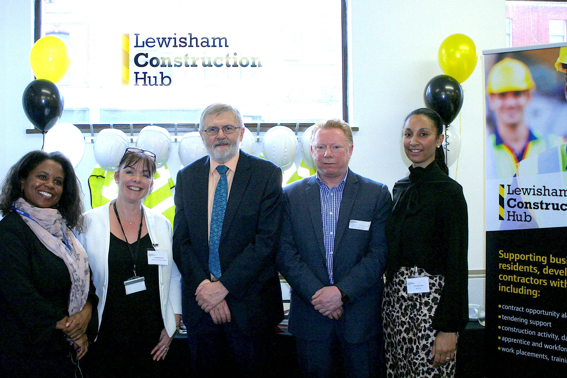 Lewisham Construction Hub officially opens