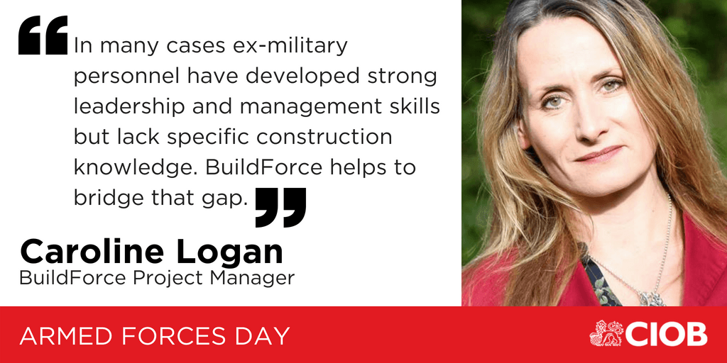 Military Leavers into Construction project celebrates success ahead of Armed Forces Day