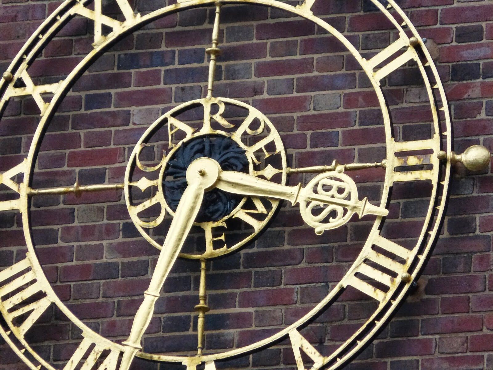 Bournville School clock
