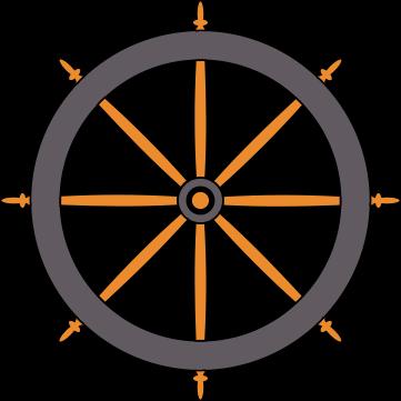 Ethos boat wheel