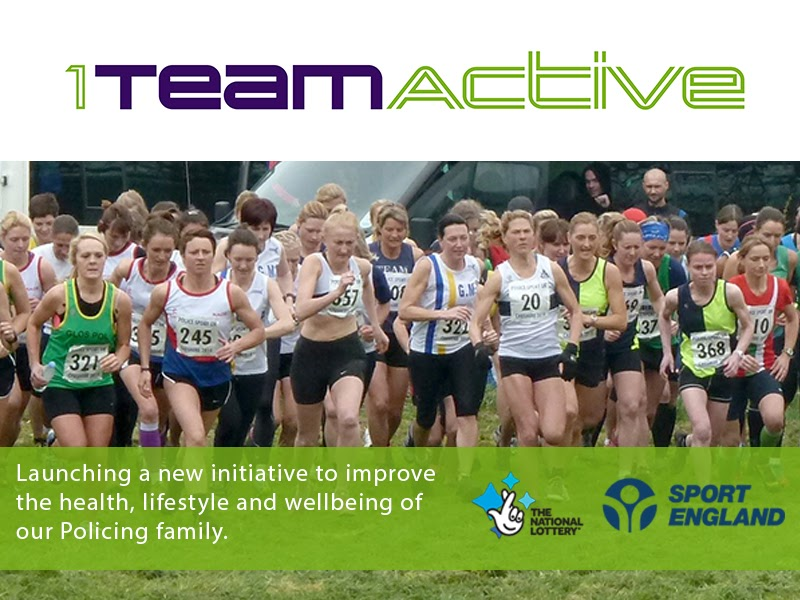 1teamactive logo and group of runners