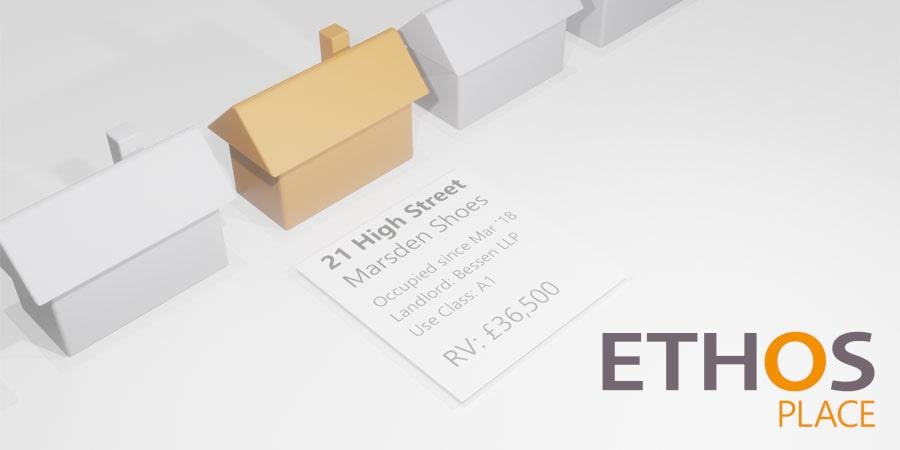 noggin property app with Ethos Place logo