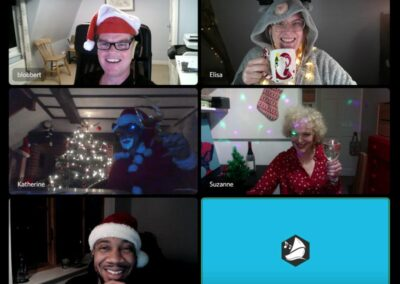 ethos christmas party on discord
